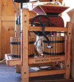 rent our antique minni cider press and make your own