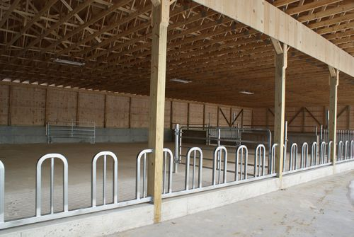 New Winter Cattle Barn