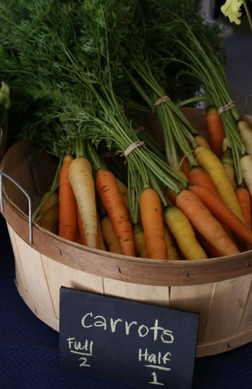 Carrots, and root crops Winter Vegetables!
