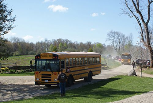 We also host school trips and educational tours of the farm.