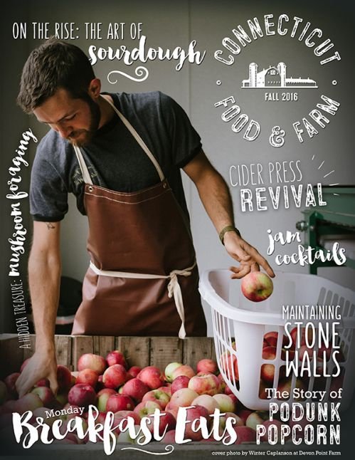 Devon Point Farm Cider Featured In Connecticut Food & Farm Magazine!