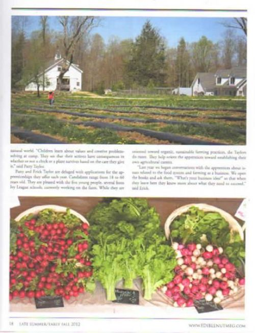 Community Supported Agriculture CSA Northeastern Connecticut