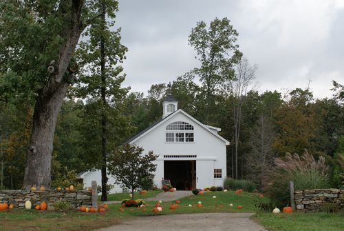 Our Barn in the Fall