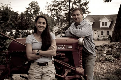 Patty & Erick Taylor, Owners of Devon Point Farm