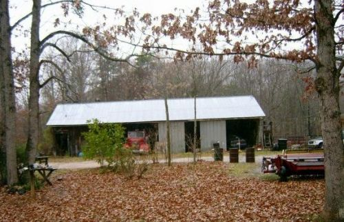 One of the barns, comes with its own fire truck!