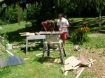 Building the Solar Dehydrator