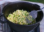 Corn cooking!