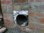 Bottom flue