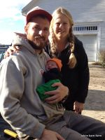 Our First Farmstand as a Family