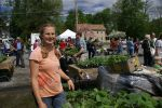 Christy at Plant Sale 2014