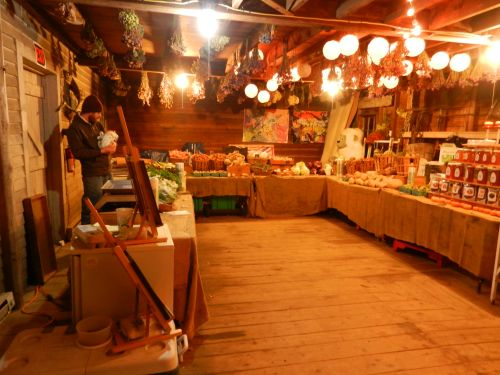 Farmstand in the Barn