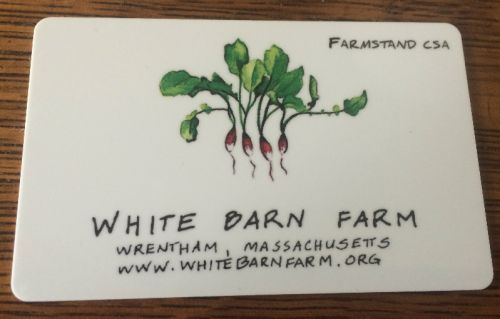 Ultimate Farmstand Shopper Card