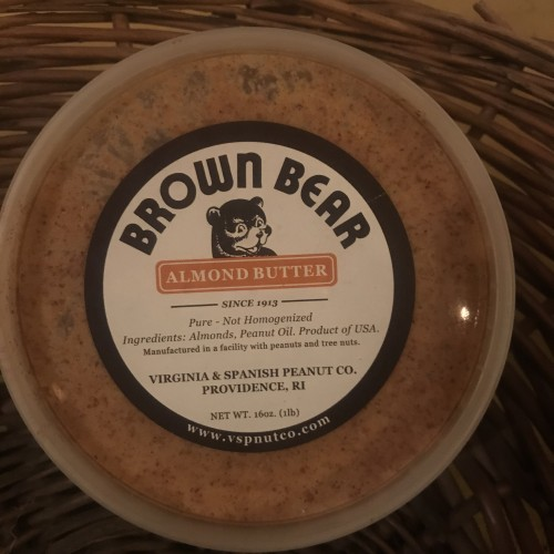 Provisions: Brown Bear Almond Butter