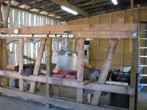 Milking Parlor Construction -