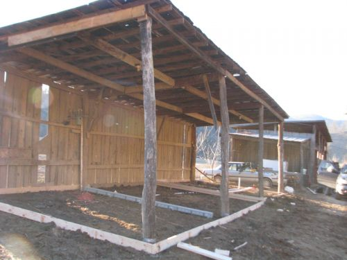 Milking barn ready to pour the slab -