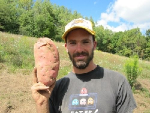 Chris and sweet potato