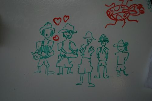 The 2011 TSF family (drawing by Brooke)