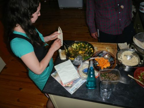 The tamale party