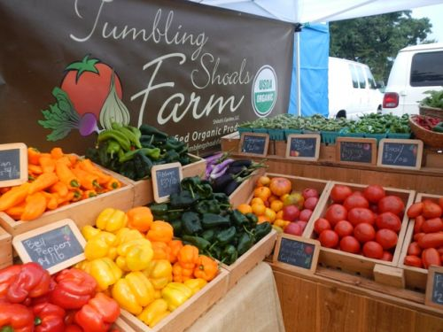 Tumbling Shoals Farm at Watauga County Farmers Market