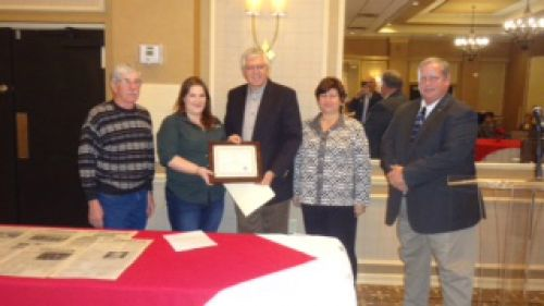 Winners of the Washington County Conservation District's 2015 Conservation Farmer of the Year Award