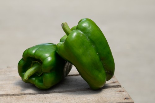Green Bell Peppers (25 lb box)