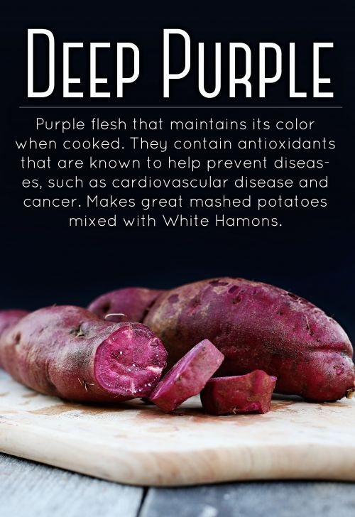Deep Purple Sweet Potatoes 10 LB