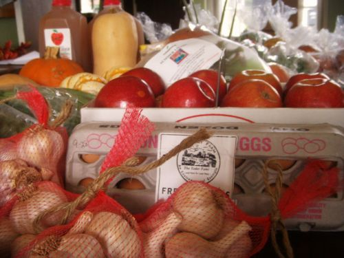 Farm stand products
