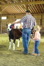 Showing Rova at the fair