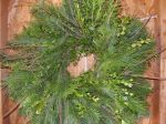 Mixed Wintergreen wreath - 24""