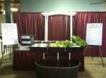The display we helped the students build for the Ohio State Fair.