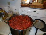 Pot of Roasted Tomatoes