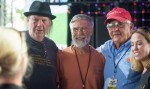 Neil, Don, Tom, Chery at Farm Aid