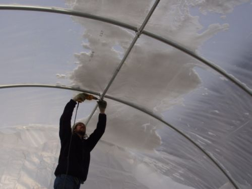 Constructing Hoophouse