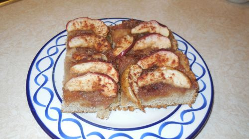 Apple Butter Apple Slice Cake