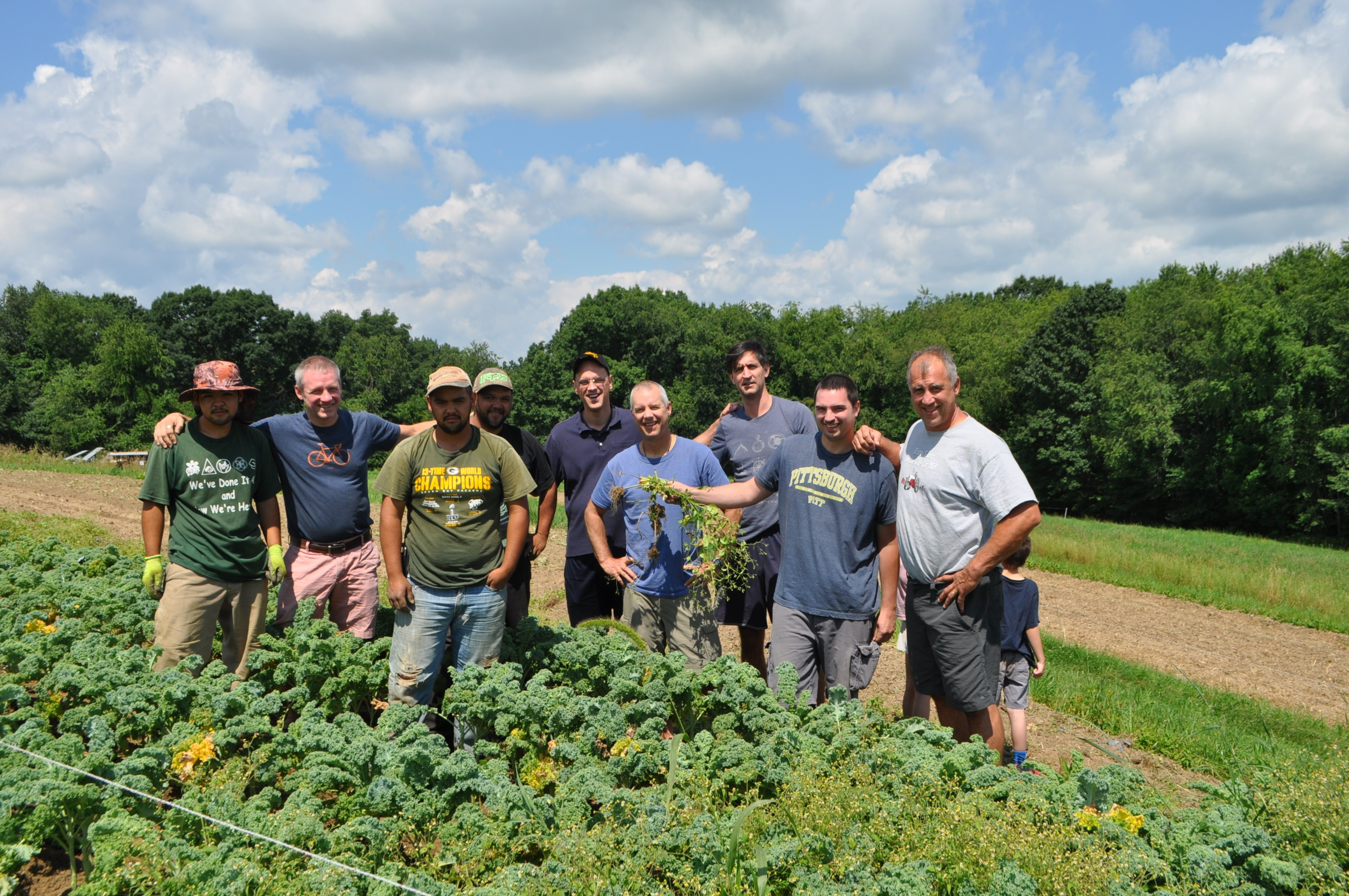 New,Old Brothers Crews in Kale