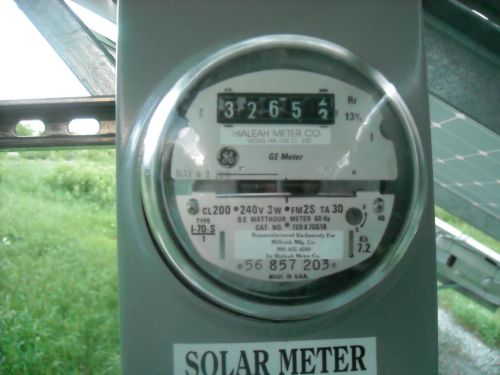 Meter Running Backwards