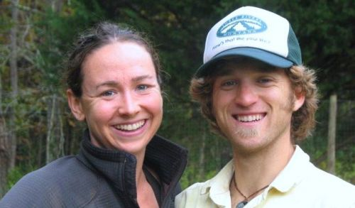 Debra, who lead field work this year.  Graham her fiance.
