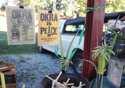 okra festival posters at DFM