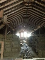 Winter hayloft