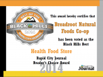 Breadroot's Best of the Black Hills Award