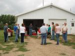 SDSPA Tour at Stewart's Aronia Acres, August 2014