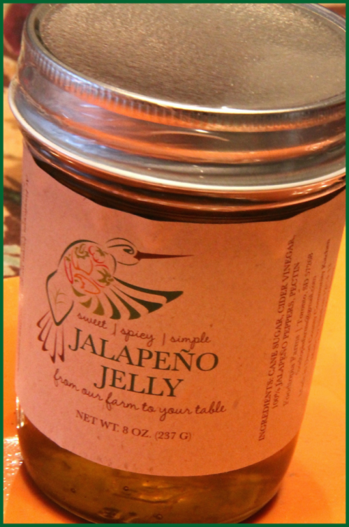 Foodtopia Farms' jalape�±o jelly