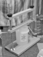 Screw-type Cheese Press, Merryl Winstein www.cheesemakingclass.com