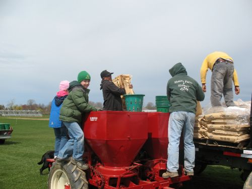 Loading the Potato Planter