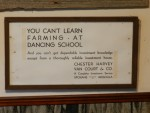 On Uncle Lee Markholt's wall at the original Markholt family farm in Tacoma.