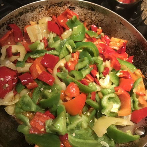 Mixed Sweet Peppers for Easy Stir Fry