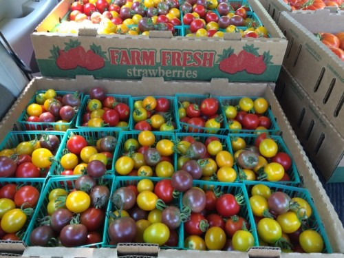 Heirloom Mixed Cherry Tomatoes