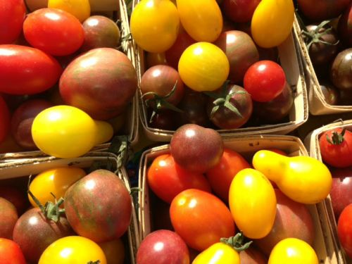 Heirloom Cherry Tomatoes- one of our best sellers!