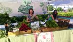 Getting Ready at BAE Farmers Market