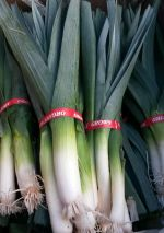 Leeks for hearty soups
